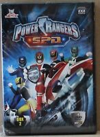 Power rangers s.p.d. - box 2 - 4 dvd boxset - exa cinema - jetix  - 396' - ital.