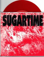 Sugartime - Awestruck - 1992 Simple Machines 7 Inch RED Vinyl Records NEW