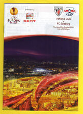 ORIG. prg Europa League 11/12 Athletic Club Bilbao-Red Bull Salzburg!!!