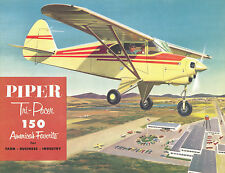 PIPER PA-22 TRI-PACER - OWNER'S HANDBOOK FOR OPERATION & MAINTENANCE / BROCHURE