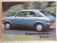AUSTIN Range brochure 1975 - Mini & 1275 GT Allegro 2 Maxi & Princess - 3146/A