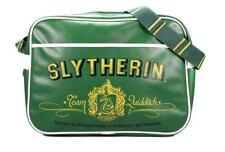Official Harry Potter Slytherin Crest Shoulder Messenger Sport School Bag