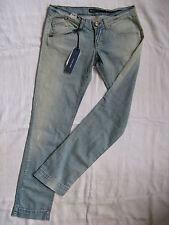 Miss Sixty Blue Jeans Stretch Denim W30/L32 x-low waist slim fit tapered leg