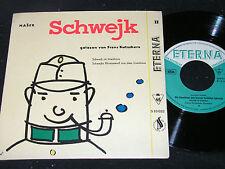 JAROSLAV HASEK Schwejk II gelesen von FRANZ KUTSCHERA/ DDR SP 1958 ETERNA 510032