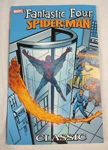 Fantastic Four Spider-Man Classic #1 2005 Softcover TPB Marvel Graphic Novel 1st