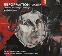 Choir of Clare College Cambridge - Reformation 1517-2017 [CD]