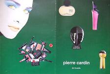 PUBLICITÉ 1996 PIERRE CARDIN CHOC EAU DE PARFUM ENIGME ROSE- ADVERTISING