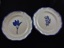 Vintage Williams Sonoma Dessert Plates Made in Italy by Ceramiche Arianna