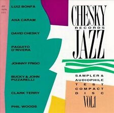 VARIOUS ARTISTS Chesky Records Jazz Sampler & Audiophile Test Compact Disc VoL 1