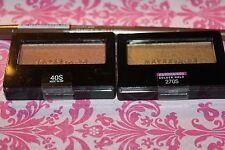 2X Maybelline Expert Wear Eyeshadow Single #40S NUDE GLOW & #270S GOLDEN + GIFT