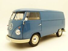 VW COMBI T1 tolé utilitaire bleu 1/18 bus panel van