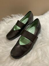 MEPHISTO Mary Jane Shoes Rose Gold Leather Women's US 7 Made In Portugal