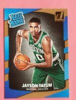 2017 panini donruss jayson tatum rookie card rated rookie boston celtics star