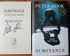 Substance Inside New Order by Peter Hook Joy Division Signed Book New Unread