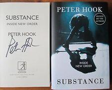 Substance Inside New Order Peter Hook Joy Division SIGNED Book New Unread 1stEd
