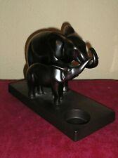 Porte bougies PARTYLITE modèle elephant + elephanteau / pour lampion ou rechaud