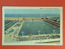 ASBURY PARK New Jersey Monte Carlo Pool odl postcard