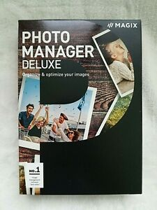 NEW Magix Photo Manager Deluxe, Organise & Optimise Images, Boxed DVD