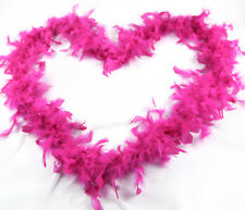 1920s Flapper Feather Boa 20s Party HOT PINK Boa Fancy DressUp Costume Halloween