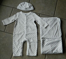 Size 3-6 months outfit Janie and Jack Signature Collection layette,3 pc. set,gif