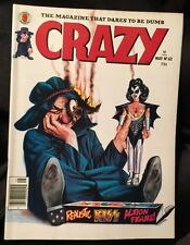 May 1980 KISS cover  Marvel Crazy Magazine #62 Mego Dolls Fine+ cond