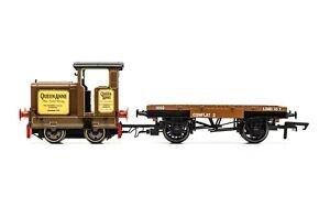 Hornby R3707 Longmorn Distillery, R&H 48DS, 0-4-0, 'Queen Anne' - Era 7 - NEW