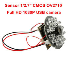 1080P Cmos Camera Module Ir Night Vision 24Leds F Win10 Android Linux 12mm Lens