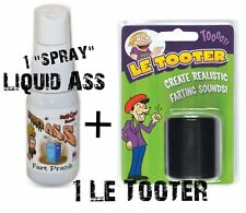 LE TOOTER  -  fart machine Pooter + 1 LIQUID ASS SPRAY