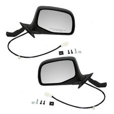 Ford F-150 F-250 F-350 Bronco Pickup Truck Set of Side Power Paddle Type Mirrors