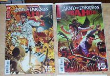 Bubba Ho-Tep Army Of Darkness Evil Dead Horror Comic 4 Issue Lot Sam Raimi