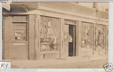 RPPC - Paris, KY - Meat Market & Grocery Store - early 1900s
