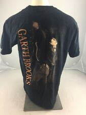 """ GARTH BROOKS "" LA Fires 2008 souvenir concert Tshirt XL black Country Music"