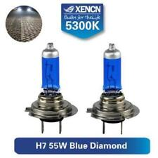 2x H7 HALOGEN BULBS 55W PX26d 12V FOR AUDI WHITE > 5000K XENON EFFECT E4 MOT TÜV
