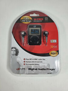 GPX Digital Audio Player 1GB MP3 Player New In Package