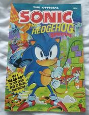 The Official SONIC THE HEDGEHOG Special - Paperback Yearbook 1991 Rare Edition?