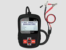 Foxwell bt100 da auto 12v TESTER BATTERIA acido al piombo AGM GEL sistema CCA DIN EN