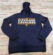 Boys Adidas Cleveland Cavaliers Hoodie Blue Size 10 12