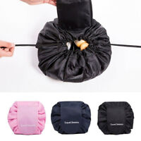 Cosmetic Travel Makeup Toiletry Case Wash Storage Organizer Pouch Drawstring Bag