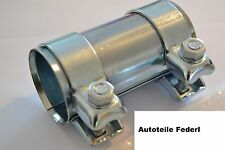 Rohrverbinder/Doppelschelle 56mm x 125mm  Audi, Citroen, Fiat, Peugeot, usw.