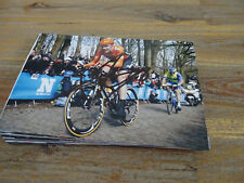 VAN T SCHIP (1) ROOMPOT - TOUR DE FRANCE CYCLING - PHOTOGRAPH ORIGINAL SIGNED *