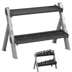 TnP Gym Dumbbell and Kettlebell Weights Weight Rack Stand Storage Holder Rack