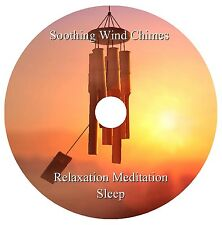 SOOTHING WIND CHIMES CD - NATURAL SOUNDS- RELAXATION MEDITATION STRESS SLEEP SPA