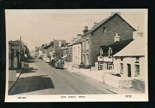 Wales Cardiganshire BORTH High St  used1c960s RP PPC