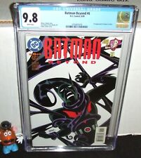 BATMAN BEYOND LIMITED #6 DC 1999 1ST APPEARANCE OF INQUE IN COMICS CGC 9.8 NM/MT