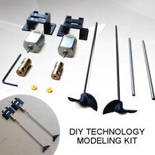 2 Kits Double Motors RC Boat Motor Drive Set For 130 Motor+15CM Shaft+Propeller
