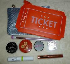 9 Piece Ipsy Birchbox Lot 2 Makeup Bags New Unused Samples Ciate, Naked, Arrow
