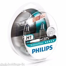 Philips H1 X-treme Vision Headlight Bulbs +130% 12V55W 12258XV (pack of 2)