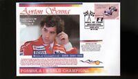 AYRTON SENNA F1 WORLD CHAMPION COVER, McLAREN 1