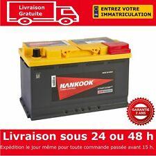 Hankook 12V 80Ah AGM Start Stop Batterie de Démarrage Pour Voiture 314x174x190mm