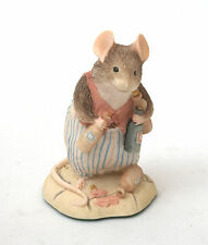 Border Fine Arts Brambly Hedge Figurine: Basil With Bottles BH26